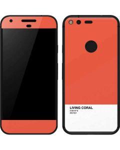 Living Coral Google Pixel Skin