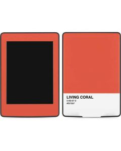 Living Coral Amazon Kindle Skin