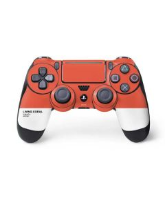 Living Coral PS4 Pro/Slim Controller Skin