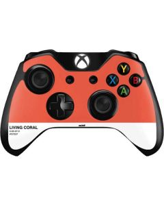 Living Coral Xbox One Controller Skin