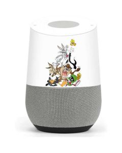 Looney Tunes All Together Google Home Skin