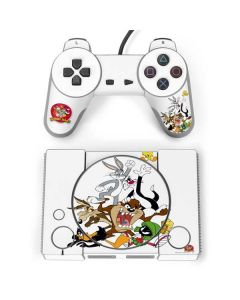 Looney Tunes All Together PlayStation Classic Bundle Skin
