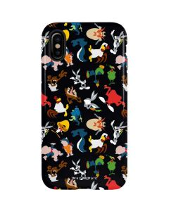 Looney Tunes Identity Pattern iPhone XS Max Pro Case