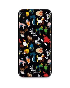 Looney Tunes Identity Pattern iPhone XS Max Skin