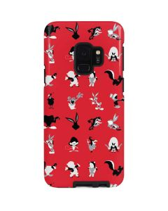Looney Tunes Identity Red Pattern Galaxy S9 Pro Case