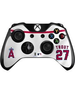 Los Angeles Angels Mike Trout #27 Xbox One Controller Skin