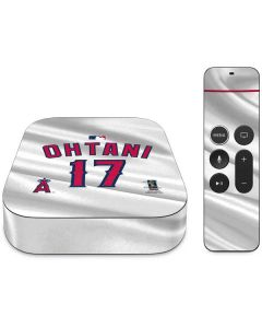 Los Angeles Angels Ohtani #17 Apple TV Skin