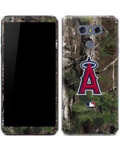 Los Angeles Angels Realtree Xtra Green Camo LG G6 Skin