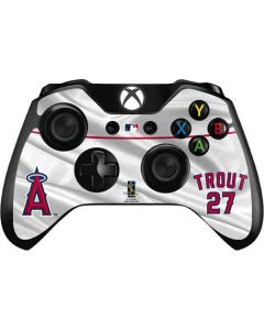 Los Angeles Angels Trout #27 Xbox One Controller Skin