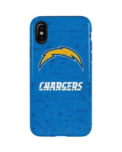 Los Angeles Chargers - Alternate Distressed iPhone XS Pro Case