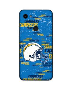 Los Angeles Chargers - Blast Google Pixel 3a Skin