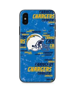 Los Angeles Chargers - Blast iPhone XS Max Skin