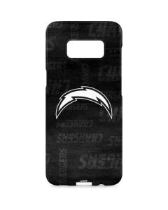 Los Angeles Chargers Black & White Galaxy S8 Plus Lite Case