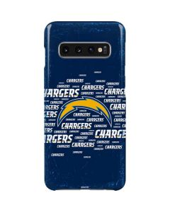 Los Angeles Chargers Blue Blast Galaxy S10 Lite Case