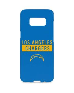 Los Angeles Chargers Blue Performance Series Galaxy S8 Plus Lite Case