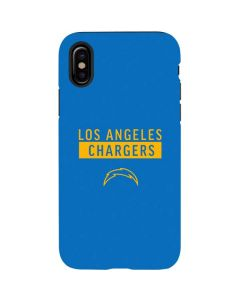 Los Angeles Chargers Blue Performance Series iPhone X Pro Case
