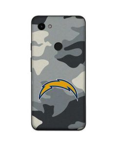 Los Angeles Chargers Camo Google Pixel 3a Skin