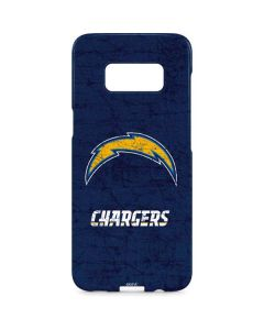 Los Angeles Chargers Distressed Galaxy S8 Plus Lite Case