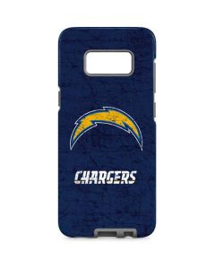 Los Angeles Chargers Distressed Galaxy S8 Pro Case