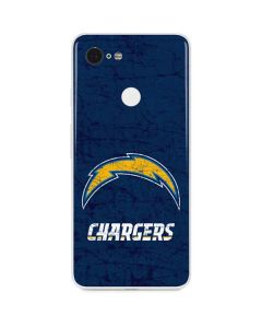 Los Angeles Chargers Distressed Google Pixel 3 Skin