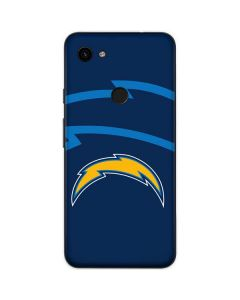 Los Angeles Chargers Double Vision Google Pixel 3a Skin