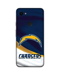 Los Angeles Chargers Google Pixel 3a Skin