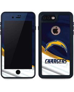 Los Angeles Chargers iPhone 8 Plus Waterproof Case