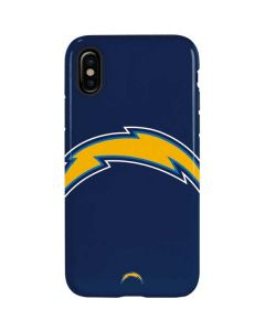 Los Angeles Chargers Large Logo iPhone X Pro Case