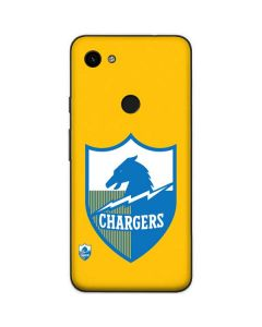 Los Angeles Chargers Retro Logo Google Pixel 3a Skin