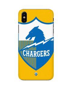 Los Angeles Chargers Retro Logo iPhone X Lite Case