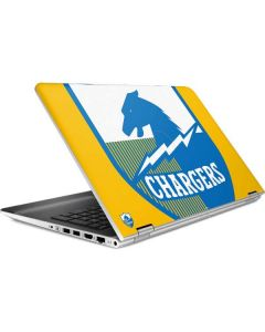 Los Angeles Chargers Retro Logo HP Pavilion Skin