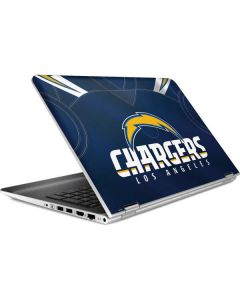 Los Angeles Chargers Team Jersey HP Pavilion Skin