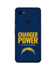 Los Angeles Chargers Team Motto Google Pixel 3a Skin