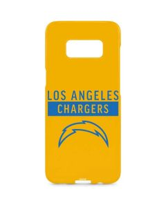 Los Angeles Chargers Yellow Performance Series Galaxy S8 Plus Lite Case