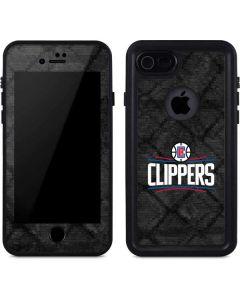 Los Angeles Clippers Black Rust iPhone 7 Waterproof Case