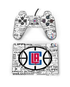 Los Angeles Clippers Blast Logos PlayStation Classic Bundle Skin