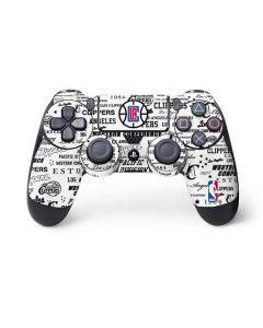Los Angeles Clippers Blast Logos PS4 Controller Skin