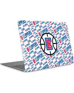 Los Angeles Clippers Blast Text Apple MacBook Air Skin