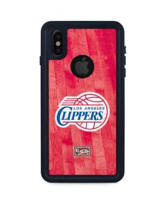 Los Angeles Clippers Hardwood Classics iPhone XS Waterproof Case