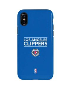 Los Angeles Clippers Standard - Blue iPhone XS Pro Case