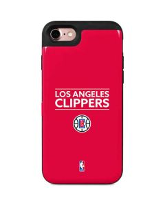 Los Angeles Clippers Standard - Red iPhone 7 Wallet Case