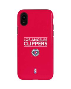 Los Angeles Clippers Standard - Red iPhone XR Pro Case