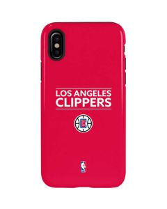 Los Angeles Clippers Standard - Red iPhone XS Pro Case