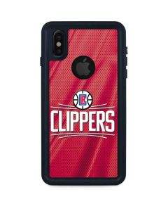Los Angeles Clippers Team Jersey iPhone XS Waterproof Case