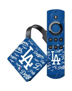 Los Angeles Dodgers - Cap Logo Blast Amazon Fire TV Skin