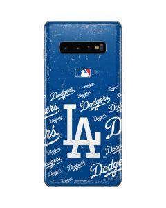 Los Angeles Dodgers - Cap Logo Blast Galaxy S10 Plus Skin