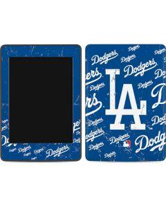 Los Angeles Dodgers - Cap Logo Blast Amazon Kindle Skin