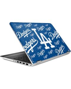 Los Angeles Dodgers - Cap Logo Blast HP Pavilion Skin