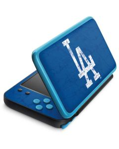 Los Angeles Dodgers - Solid Distressed 2DS XL (2017) Skin