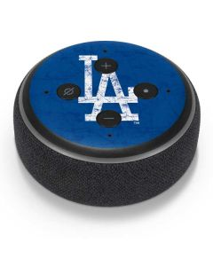 Los Angeles Dodgers - Solid Distressed Amazon Echo Dot Skin